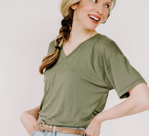 Женская футболка бесплатная выкройка