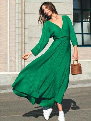 Бесплатная выкройка платья Uterqüe