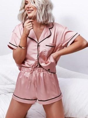 Женская пижама в стиле Victoria's Secret