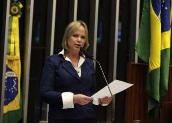 A deputada Ana Perugini no Plenário da Câmara