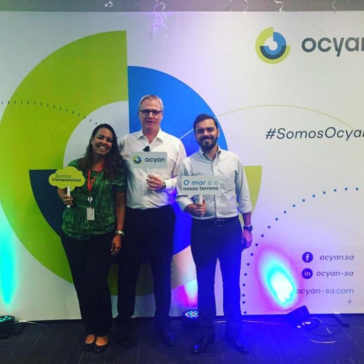 Evento de lançamento da nova marca da Odebrecht Óleo e Gás, agora Ocyan, no Rio de Janeiro