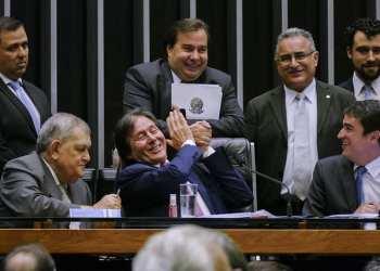 Plenário da Câmara dos Deputados durante sessão conjunta do Congresso Nacional destinada à deliberação de cinco vetos e 15 projetos de lei que abrem créditos orçamentários (PLNs).