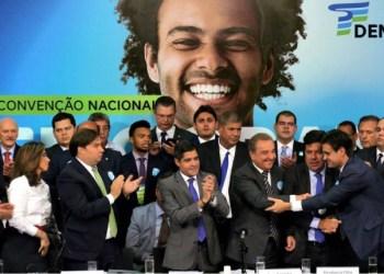 DEM realiza Convenção Nacional, elege ACM Neto presidente e Rodrigo Maia é pré-candidato ao Planalto - Foto: Cortesia DEM