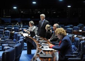 Plenário do Senado Federal durante sessão deliberativa extraordinária. Foto: Alessandro Dantas/Liderança do PT no Senado
