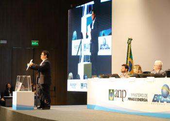 Moreira Franco, Ministro de Minas e Energia, participa do Leilão de Pré Sal 4.  Rio de Janeiro/RJ.  Foto: Beth Santos/MME