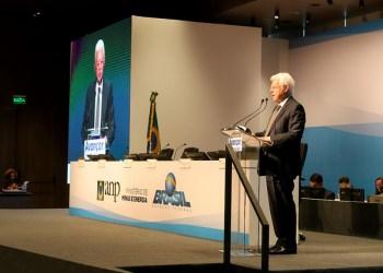 Moreira Franco, Ministro de Minas e Energia, participa do Leilão de Pré Sal 4.Foto: Beth Santos/MME