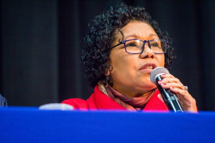 Vera Lúcia é a candidata do PSTU - Romerito Pontes/Direitos Reservados