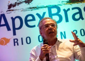 Rio de Janeiro -  Economista Paulo Guedes diz em seminário da Apex- Brasil que este é um momento para investir no país (Bruna Prado/Apex-Brasil)