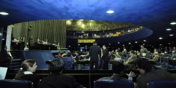 Geral do Plenário durante a Ordem do Dia