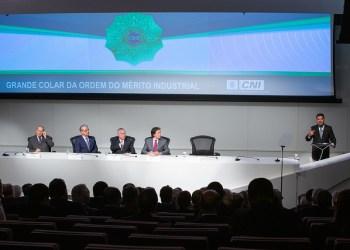Brasília - DF, 30/10/2018) Palavras do Ministro da Indústria, Comércio Exterior e Serviços, Marcos Jorge. Foto: Washington Costa/MDIC