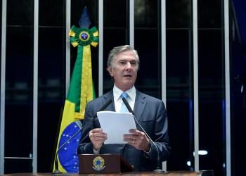 O senador Fernando Collor (PTC/AL), autor do projeto que cria os leilões de eólicas offshore / Foto: Agência Senado