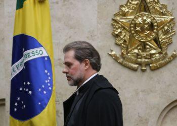 O ministro do Supremo Tribunal Federal (STF) Dias Toffoli toma posse no cargo de presidente da Corte.