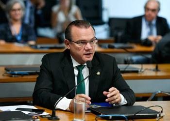 Wellington Fagundes (PR-MT), presidente da comissão mista, cancelou a reunião por falta de quórum Edilson Rodrigues/Agência Senado