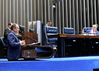 Plenário do Senado Federal durante sessão deliberativa ordinária. rrEm discurso, à tribuna, senador Zequinha Marinho (PSC-PA). rrFoto: Geraldo Magela/Agência Senado