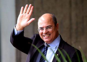 O governador eleito do Rio de Janeiro, Wilson Witzel, no Centro Cultural Banco do Brasil (CCBB), em Brasília, onde funciona o gabinete de transição de governo.