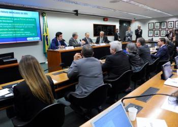 Ministro Bento Albuquerque participa de audiência na CME da Câmara / Foto: Agência Câmara
