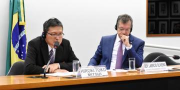 Audiência pública sobre a compra da Gaspetro pela Mitsui e o contrato de concessão com Sergipe. Diretor Presidente da Mitsui Gás, Hiroki Toko. Foto: Reila Maria/Câmara dos Deputados