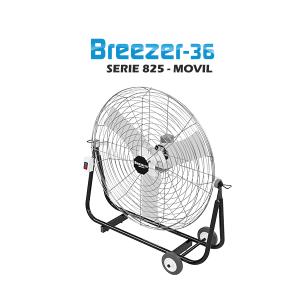 Ventilador BREEZER - 36 Móvil