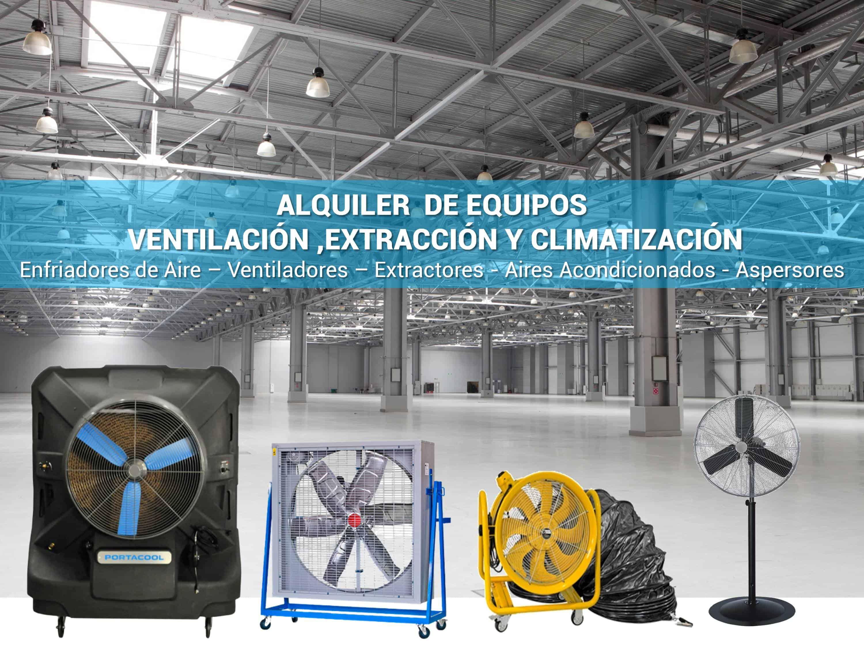 alquiler ventiladores