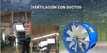 Ventilación con Ductos
