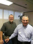 EPC Asst. Stated Clerk Ed McCallum;  Bob Wilbur (Central South)