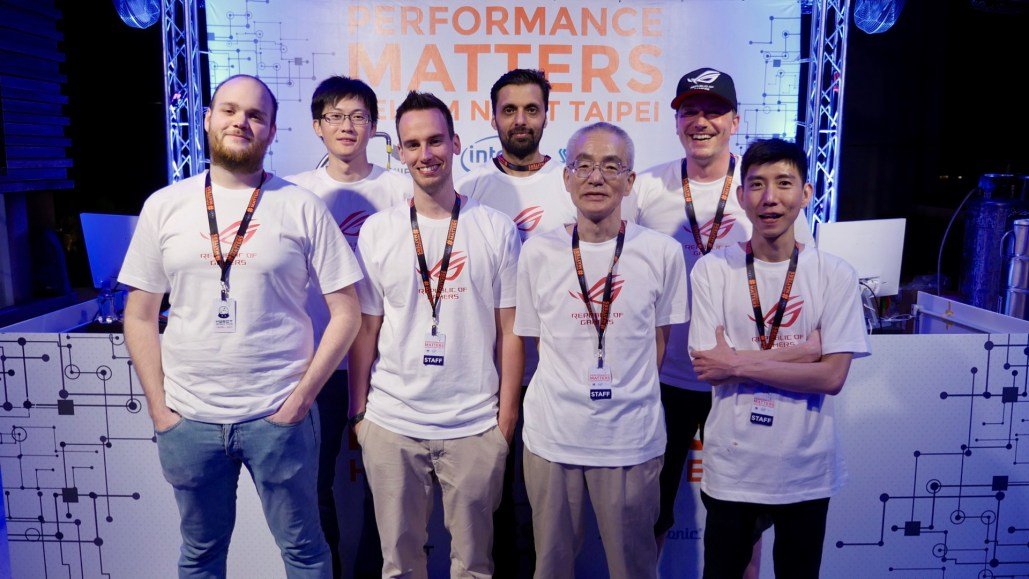 The ASUS ROG Team