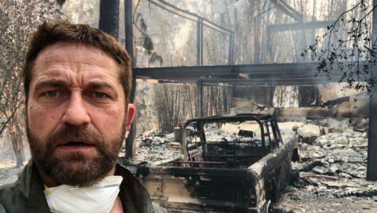 Gerard Butler Malibu Home Destroyed in California Fire