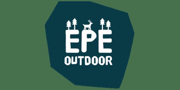 Logo EpeOutdoor, mountainbiken, wandelen en paardrijden op de Veluwe