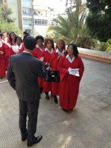 La chorale malgache, une force vive de l'Eglise protestante française de Beyrouth