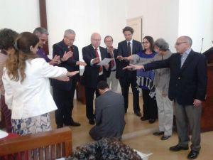 Installation du pasteur Lacoste