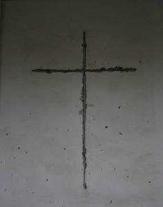 empreinte croix