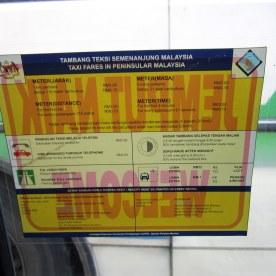 Kuala Lumpur taksi