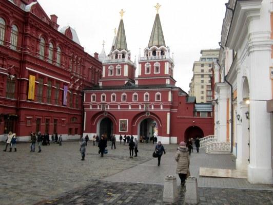 Moskova, ylösnousemuksen portti, punainen tori