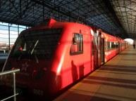 Aeroexpressjuna Sheremetyevon kentällä