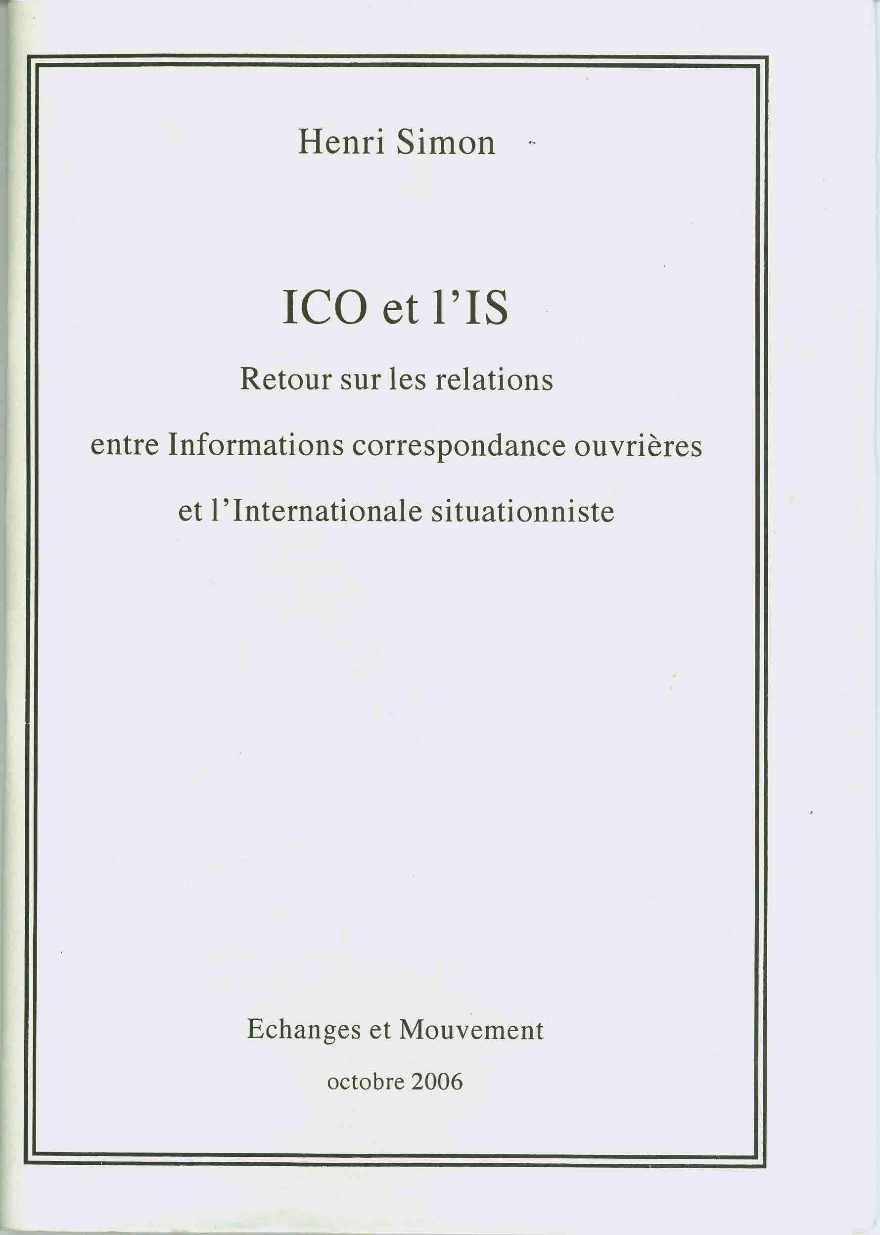 ICO et l'IS