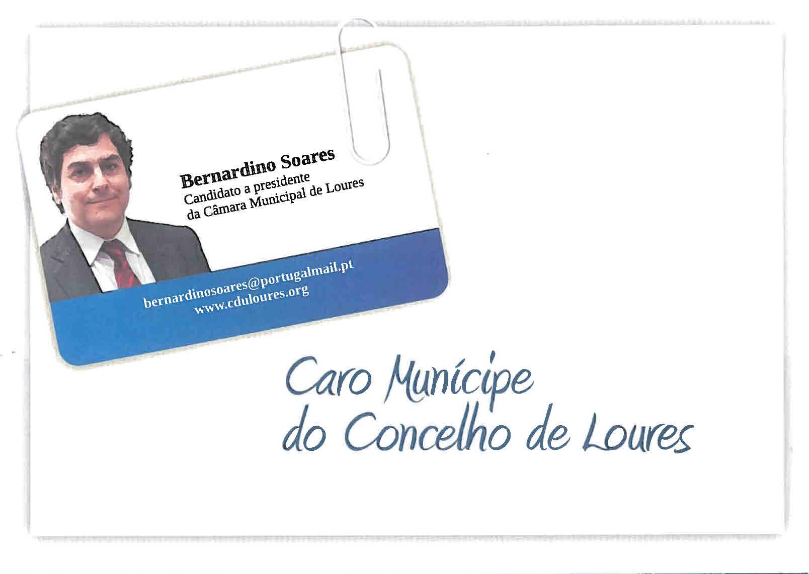 CDU – Caro Munícipe de Loures