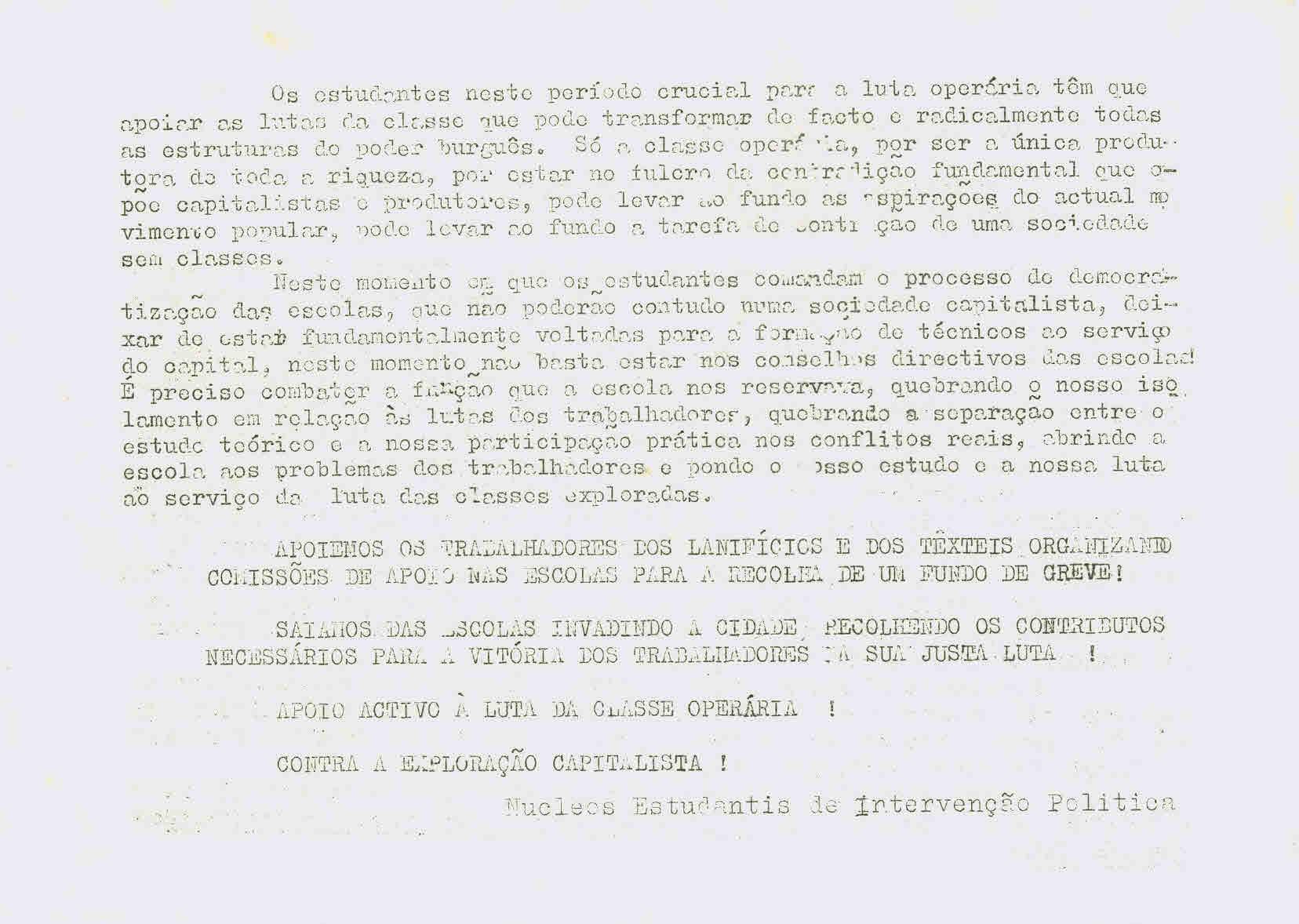 Aos estudantes de Lisboa (2)