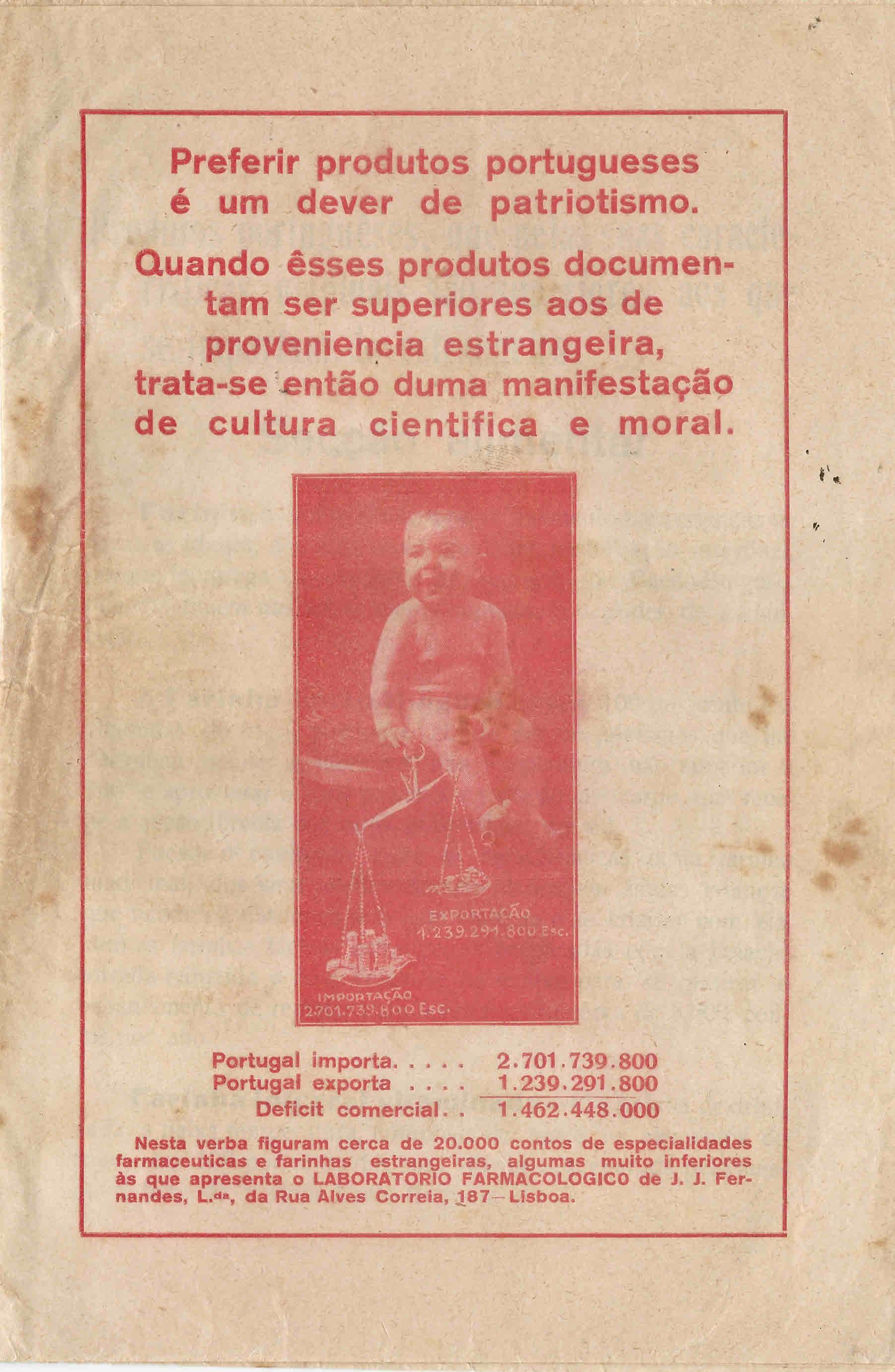 COLECÇÃO DE PUBLICIDADE  LABORATÓRIO FARMACOLÓGICO ... dcd156d6e74bb