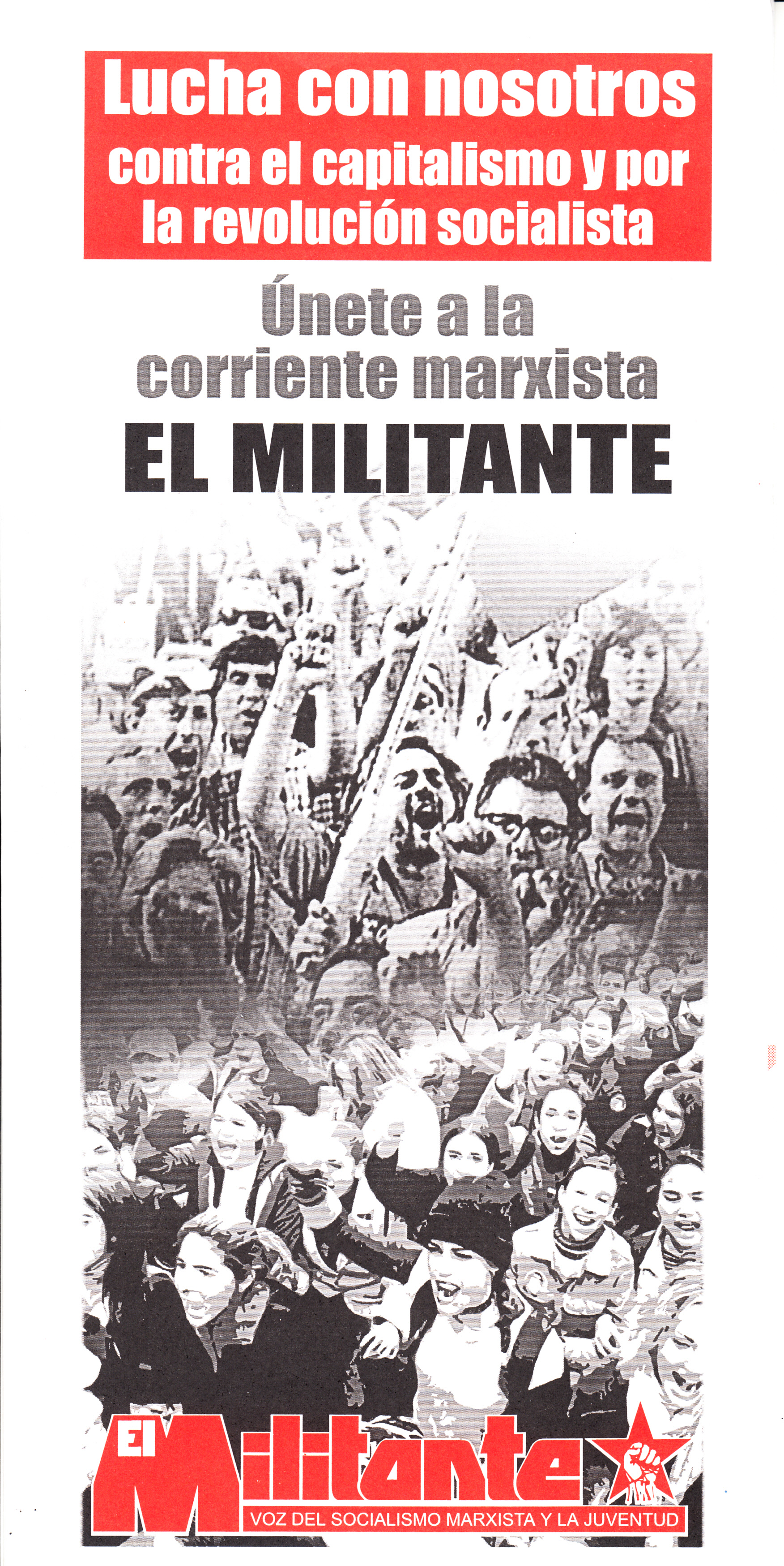 Militante_panfleto