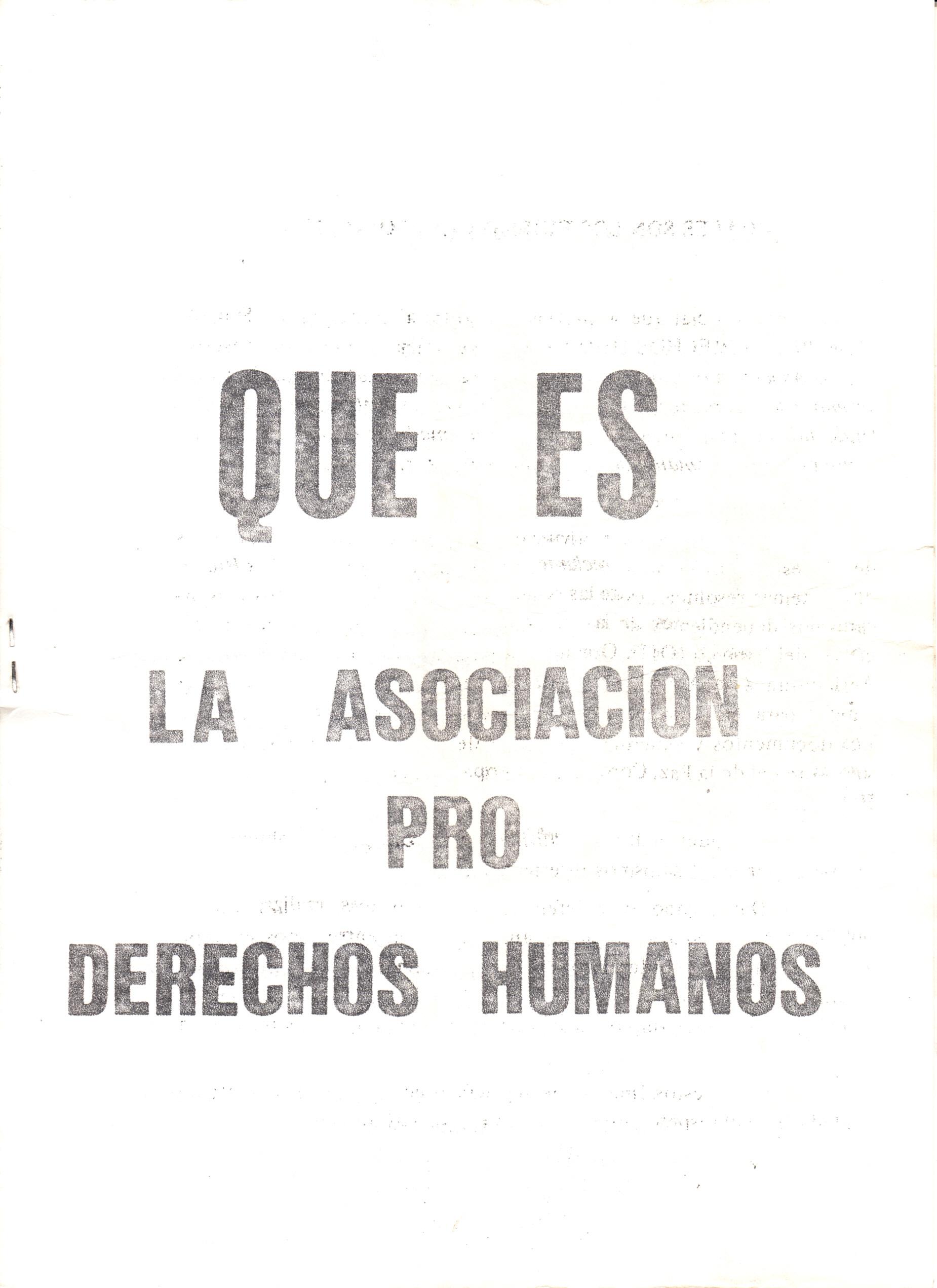 Pro Derechos Humanos