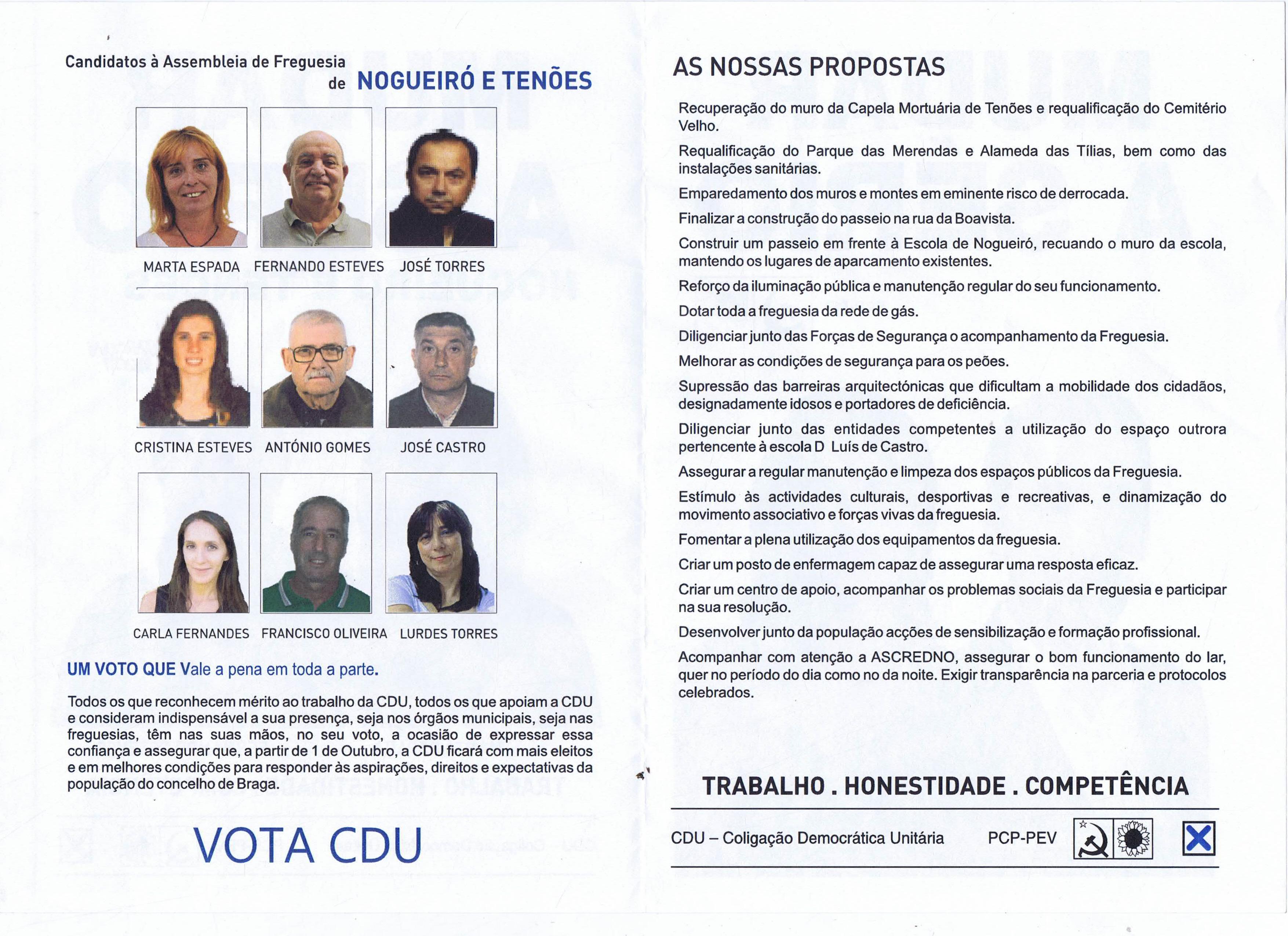 CDU BRAGA NOGUEIRÓ 2017 2