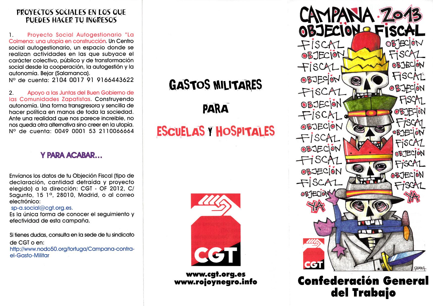 ESPANHA – CONFEDERACIÓN GENERAL DEL TRABAJO (CGT ... f7890e591530f
