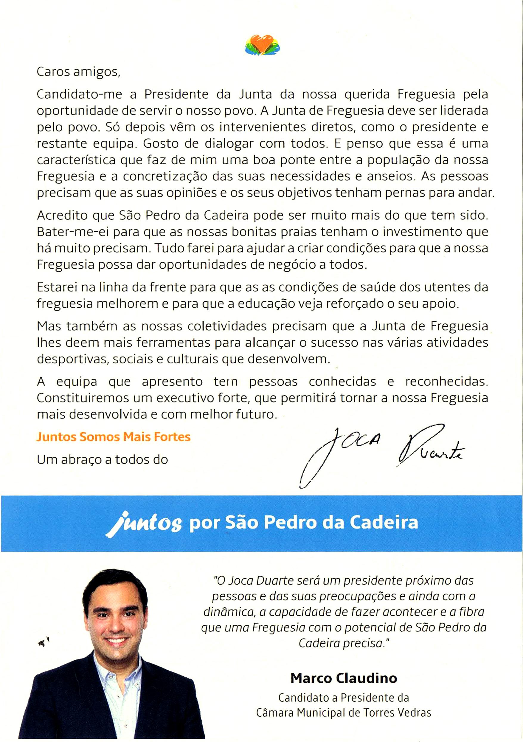 PSD TVEDRAS S PEDRO DA CADEIRA – 2017 2