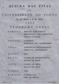 c7fb281d184 QUEIMA DAS FITAS DE 1962 – PORTO – EPHEMERA – Biblioteca e arquivo ...