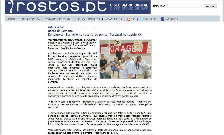 "c753f50ae35 EPHEMERA FORA DO EPHEMERA  ""ROSTO DA SEMANA"" – EPHEMERA – Biblioteca ..."
