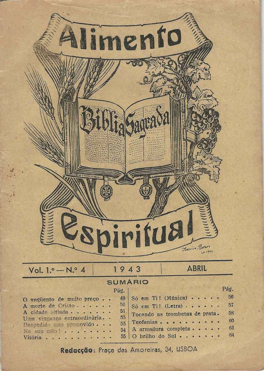 00cb4034ef ALIMENTO ESPIRITUAL – EPHEMERA – Biblioteca e arquivo de José Pacheco  Pereira