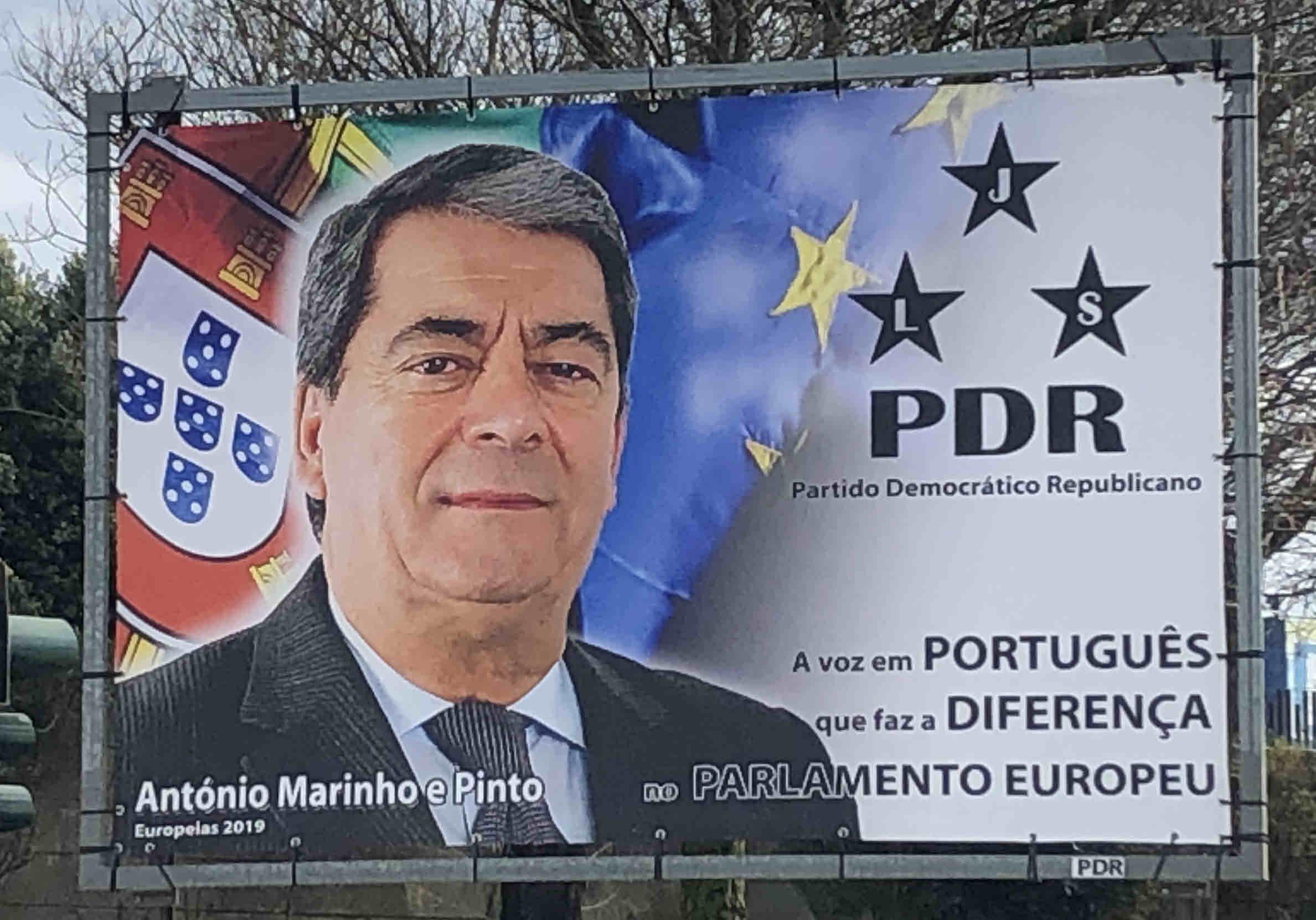ELEIÇÕES PARA O PARLAMENTO EUROPEU (2019) -PDR – EPHEMERA ... a30dcdfab03