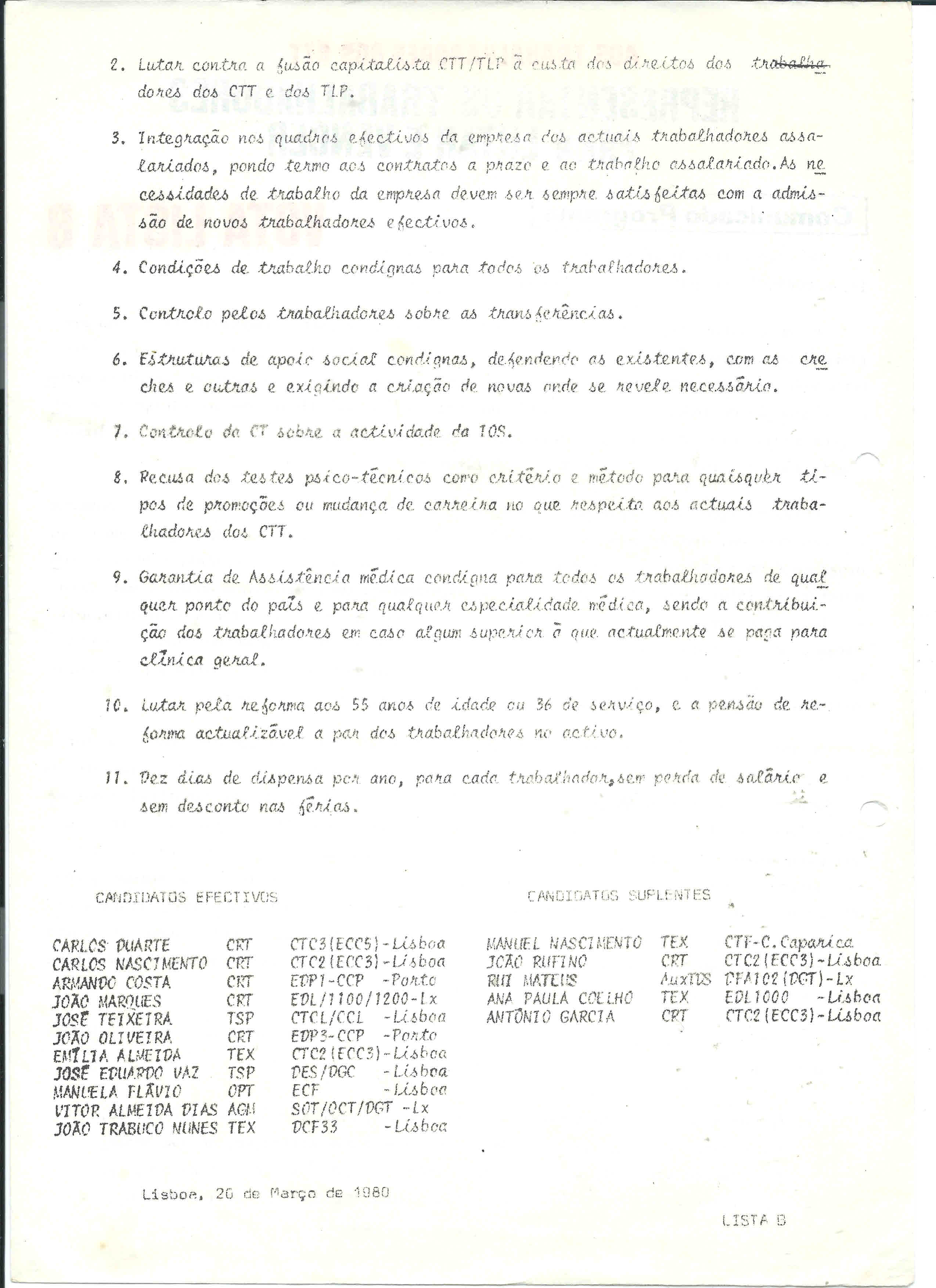 Copy of trab dos CTT lista B