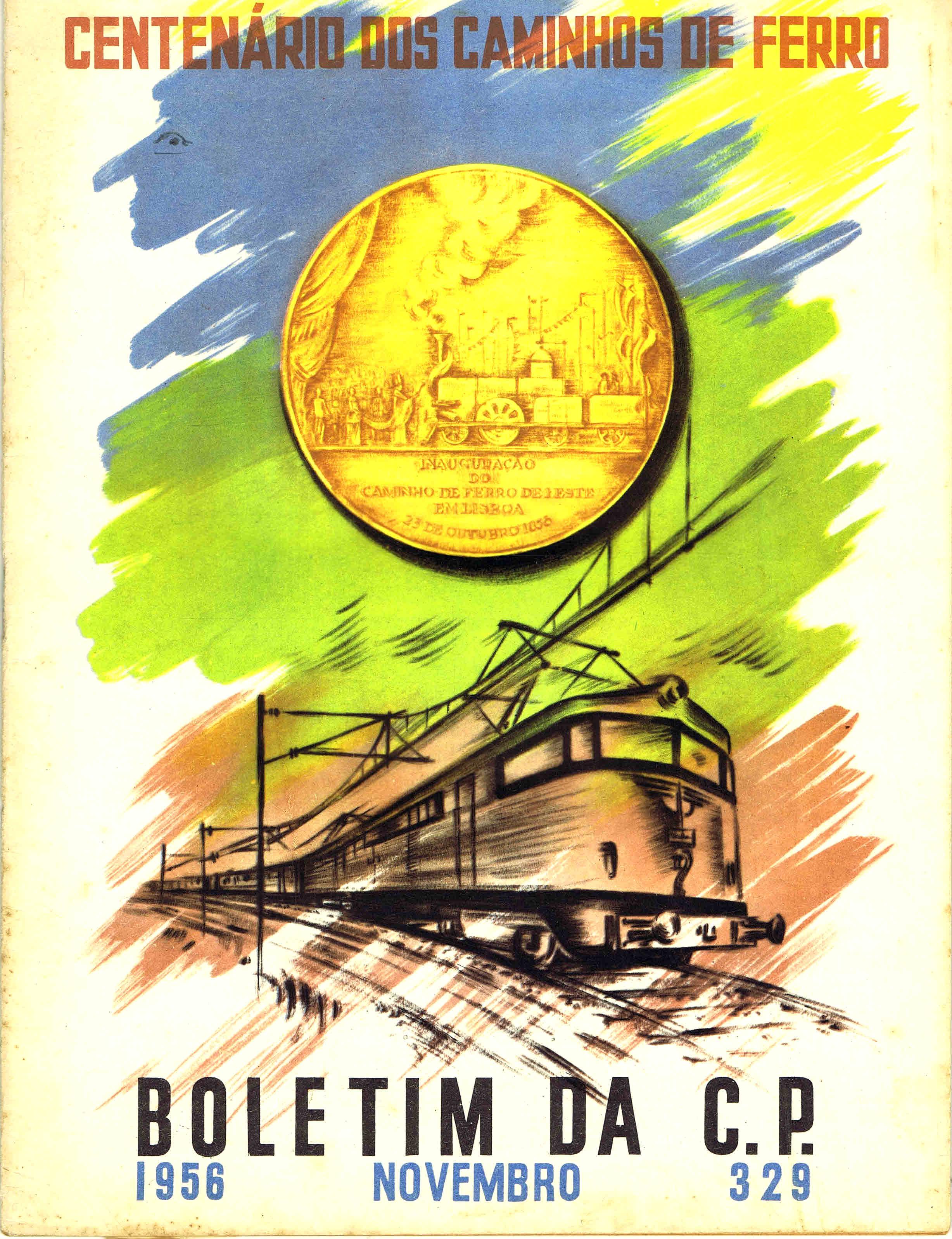 boletim da cp nº 329 novembro 1956