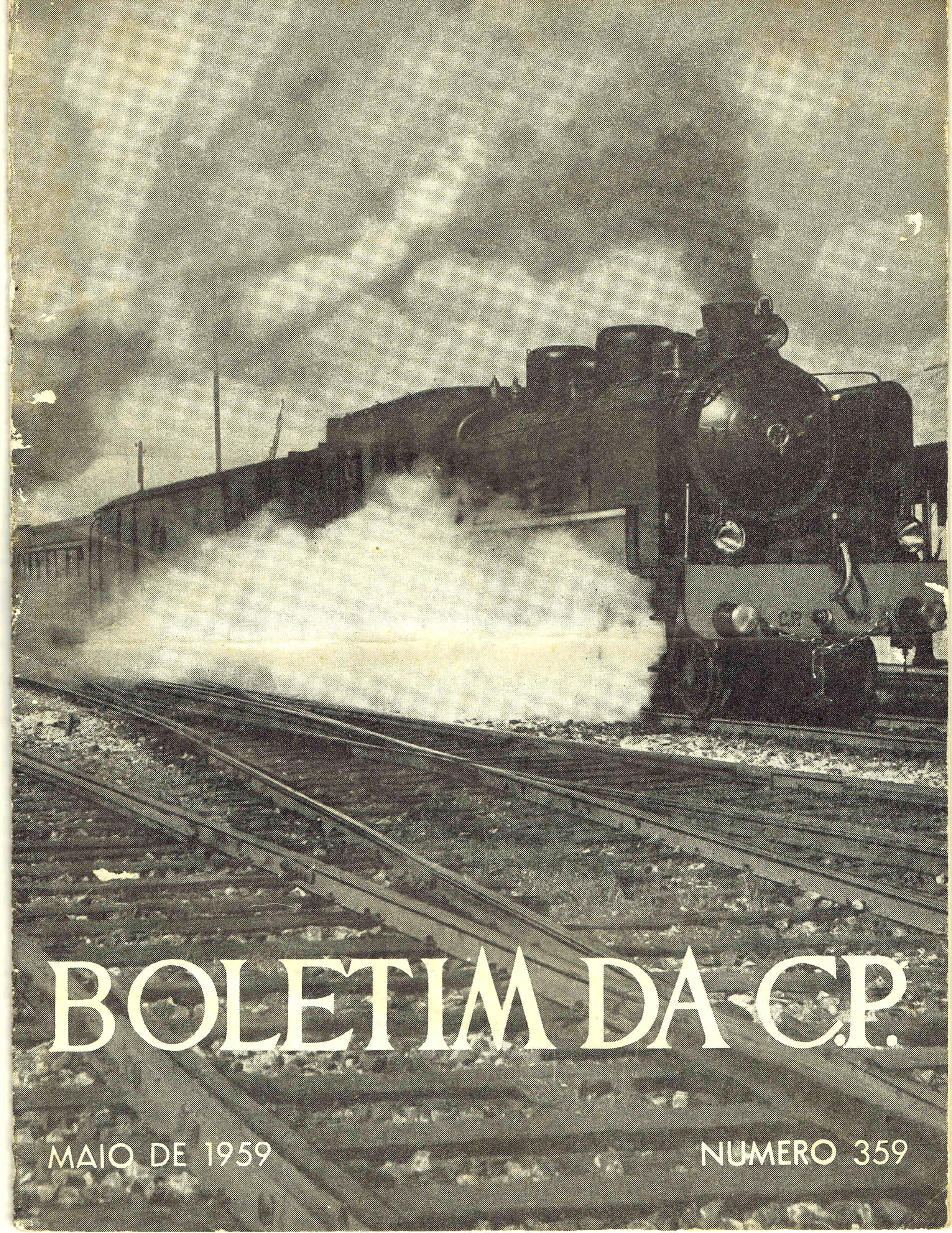 boletim da cp nº 359 maio 1959
